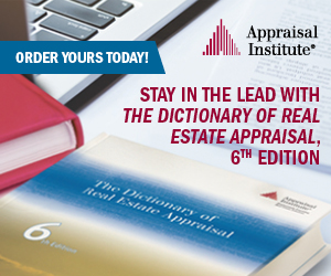 Stay in the lead with The Dictionary of Real Estate Appraisal, 6th edition